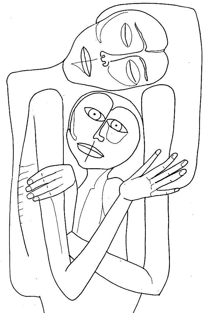 Abstract Coloring Pages Free #7